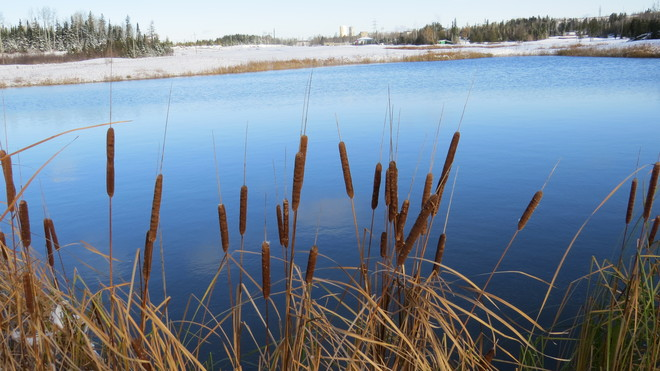shades of blue Timmins, Ontario Canada
