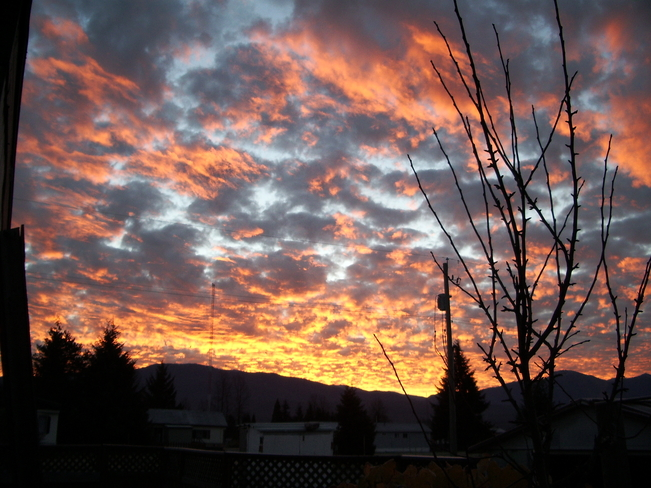sunrise Kitimat, British Columbia Canada