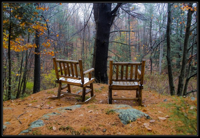Two chairs... Parham, Ontario Canada