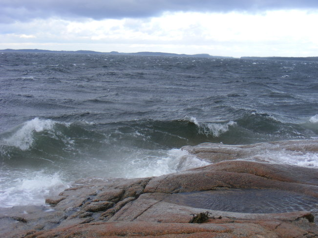 Waves Birchy Bay, Newfoundland and Labrador Canada