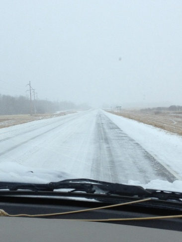 Terrible Road Conditions Meadow Lake No. 588, Saskatchewan Canada