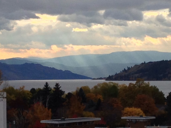 A little sunshine Kelowna, British Columbia Canada