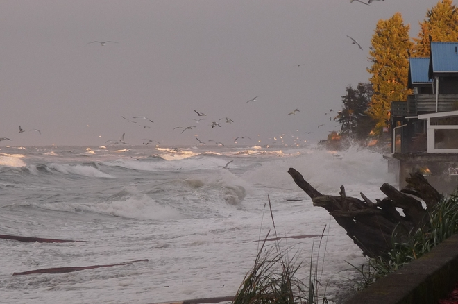 Angry Seas Qualicum Beach, British Columbia Canada