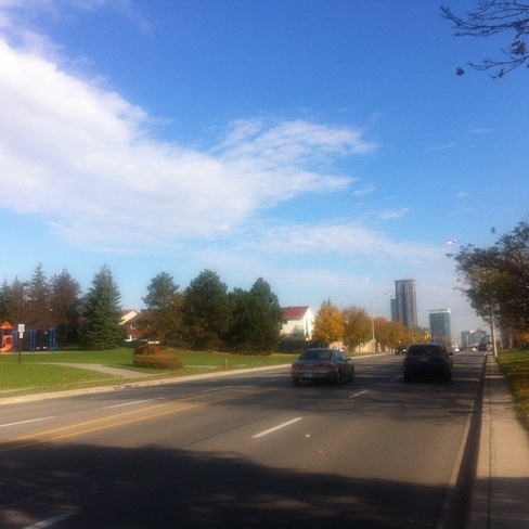 Beautiful day in Mississauga Cooksville, Ontario Canada