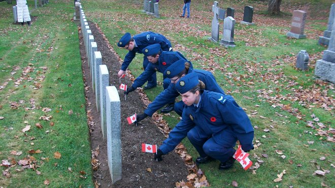Canada Remember by Air Cadets Halifax, Nova Scotia Canada