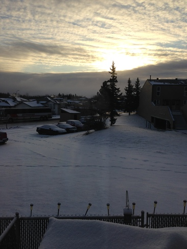 A Snowy morning Fort McMurray, Alberta Canada