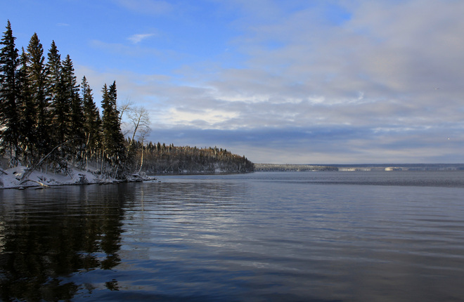 Beautiful Morning Waskesiu Lake, Saskatchewan Canada