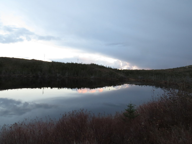 cloudsin the water Marystown, Newfoundland and Labrador Canada