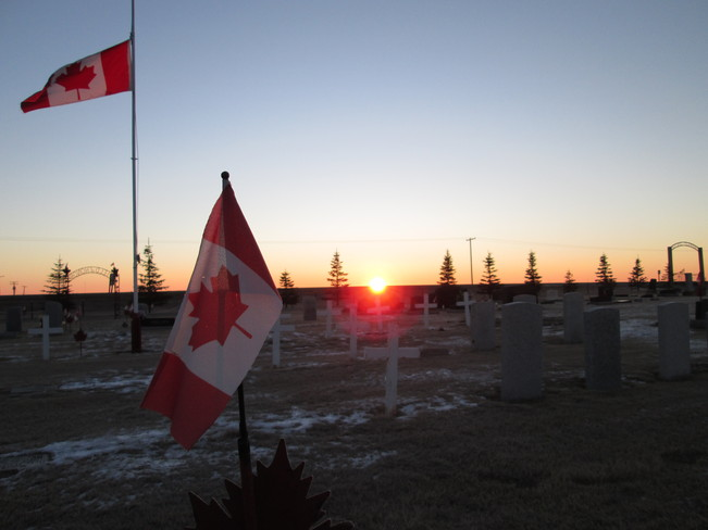 Field of Honor Kindersley, Saskatchewan Canada