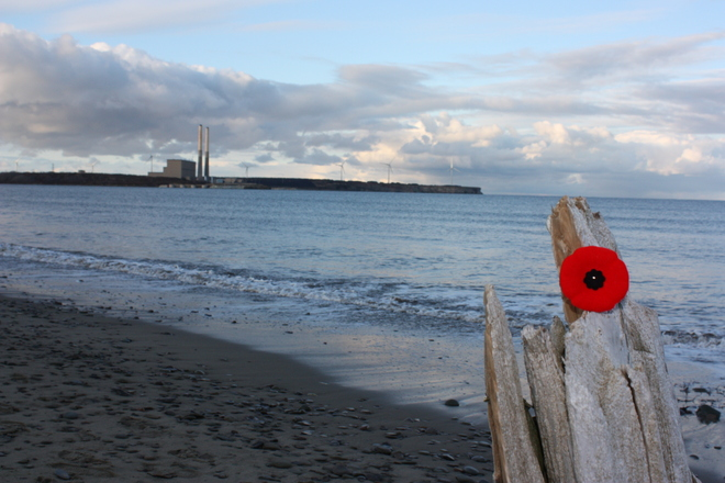 Lest we forget Glace Bay, Nova Scotia Canada