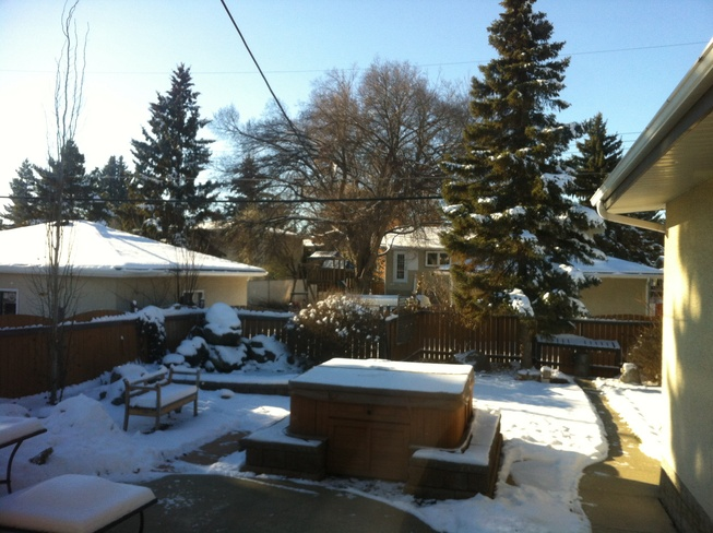 Beautiful Day Edmonton, Alberta Canada