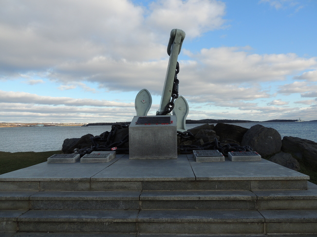 Monument Spotted In Point Pleasant Park November 13th 2013 Halifax, Nova Scotia Canada