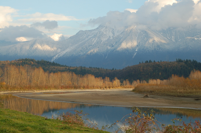 Fall on the Fraser Agassiz, British Columbia Canada