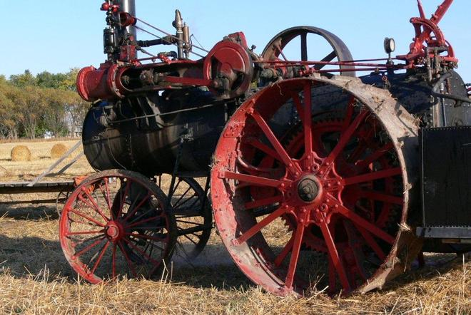 Steam Tractor Killarney, Manitoba Canada