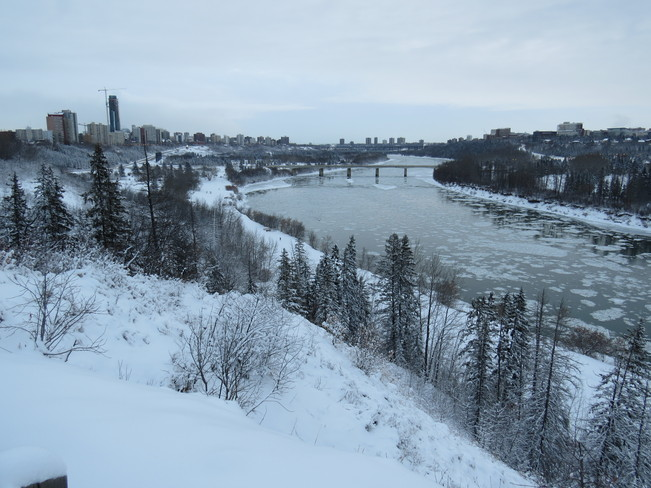 Sunday morning Edmonton, Alberta Canada