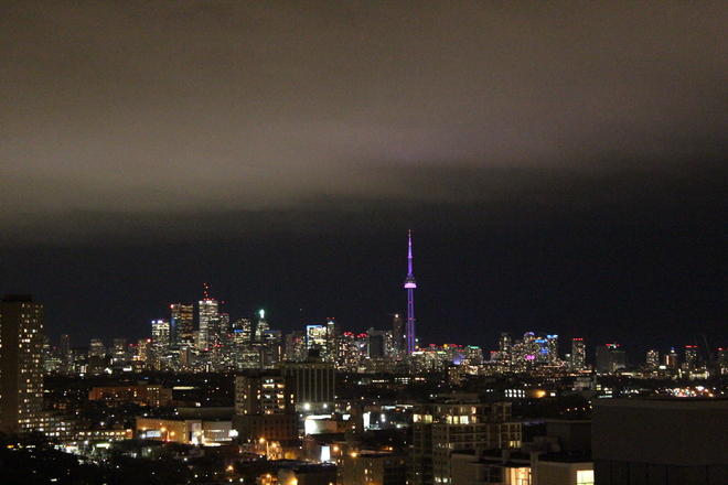 Beautiful November Toronto Skyline Toronto, Ontario Canada
