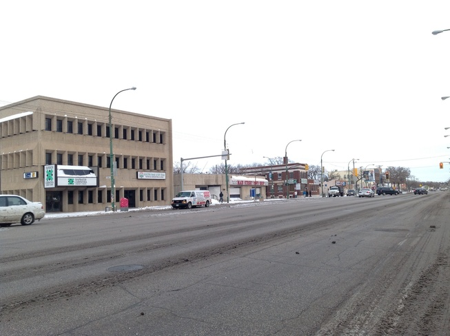 Selkirk and Main Street. Winnipeg, Manitoba Canada