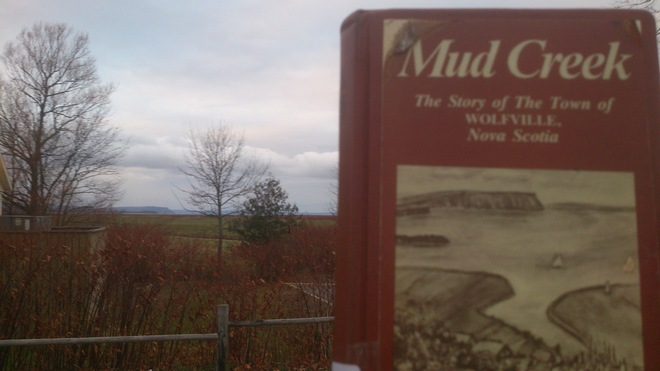 Mud Creek, Wolfville and Blomidon. What a spot! Wolfville, Nova Scotia Canada