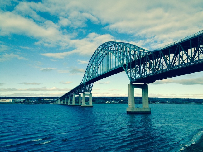 Centennial Bridge, Miramichi Chatham, New Brunswick Canada