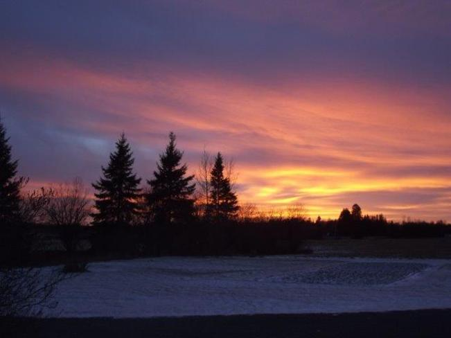 Another awesome Ontario Sunset Englehart, Ontario Canada