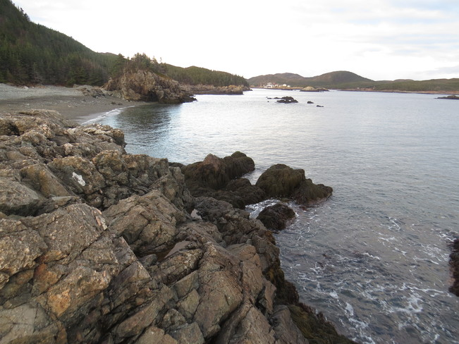 nice beaches off home Rock Harbour, Newfoundland and Labrador Canada