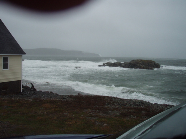 Storm Surge in Twillingate Twillingate, Newfoundland and Labrador Canada