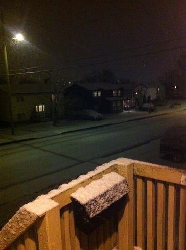 Snow ! Mount Pearl, Newfoundland and Labrador Canada