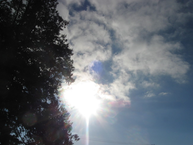 here comes the sun!! Surrey, British Columbia Canada
