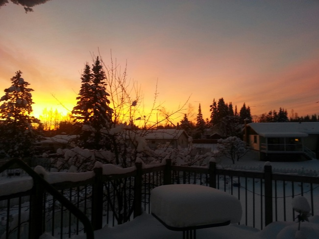 Winter Dawn Prince George, British Columbia Canada