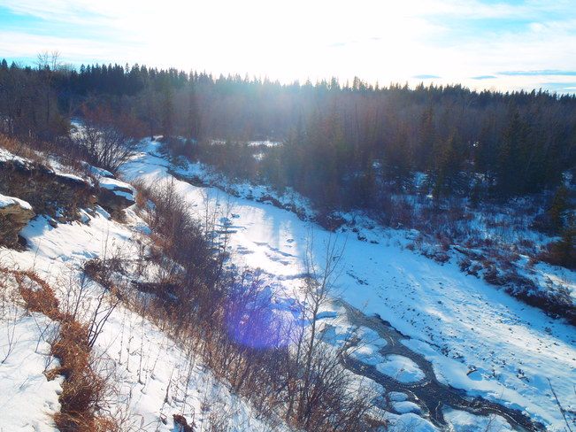 fish creek Calgary, Alberta Canada