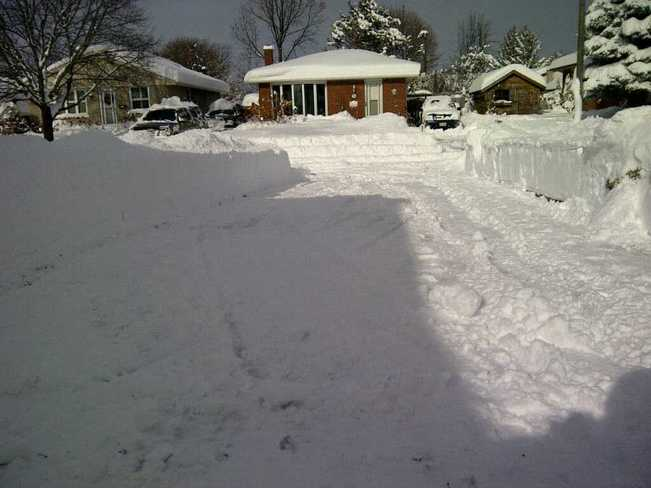 A 2 snow blower job St. Thomas, Ontario Canada