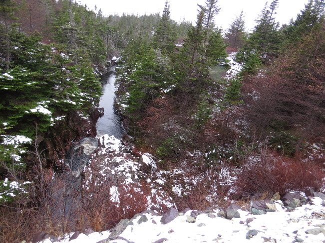 lots off wather in the Rivers Marystown, Newfoundland and Labrador Canada