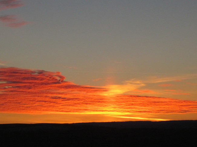 Sunrise over Cypress Hills Maple Creek, Saskatchewan Canada