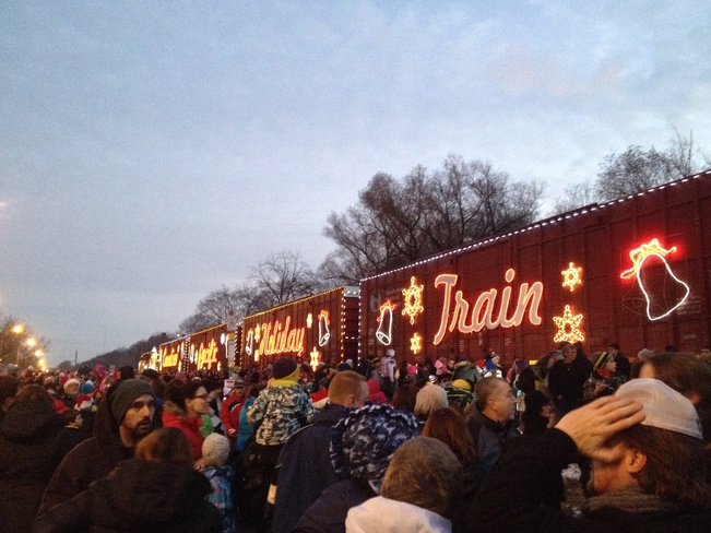 CPR Holiday Train Hamilton, Ontario Canada
