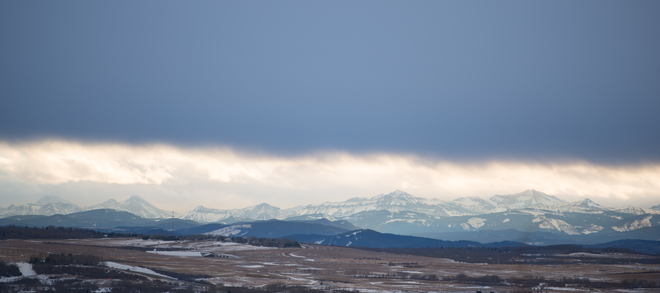 Calm before the Storm Cochrane, Alberta Canada