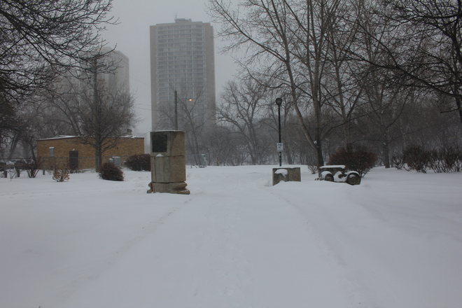 Snowy Views Winnipeg, Manitoba Canada