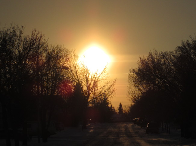 Tonight's Sun Kindersley, Saskatchewan Canada