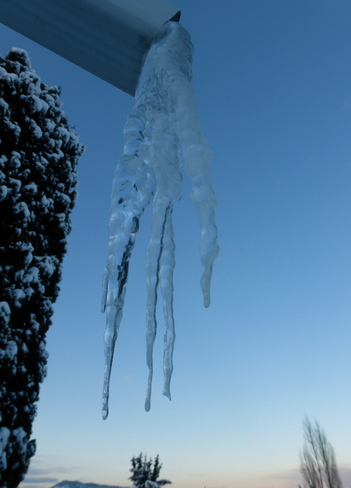 THE COLD HAND OF A DEEP FREEZE Cranbrook, British Columbia Canada