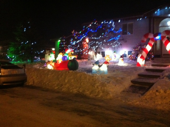 Merry Christmas Fort Saskatchewan, Alberta Canada