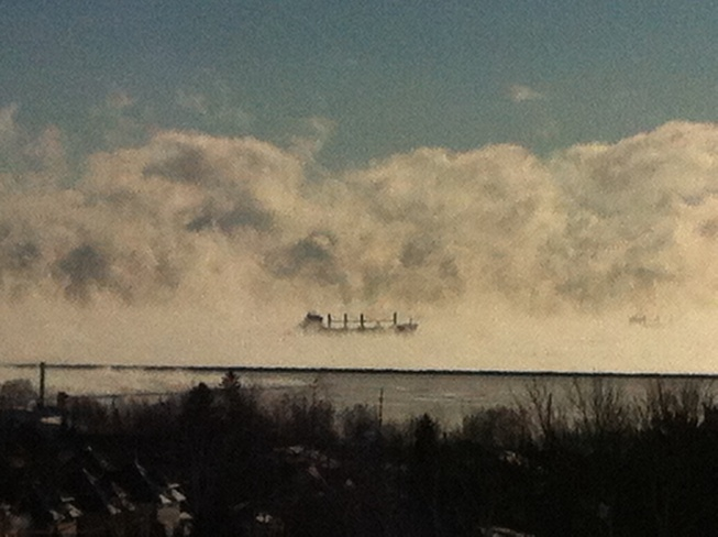 Ghost Ship Thunder Bay, Ontario Canada