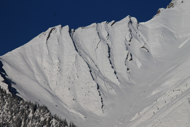 Fresh Snow and Rocky Ridges Canmore, Alberta Canada