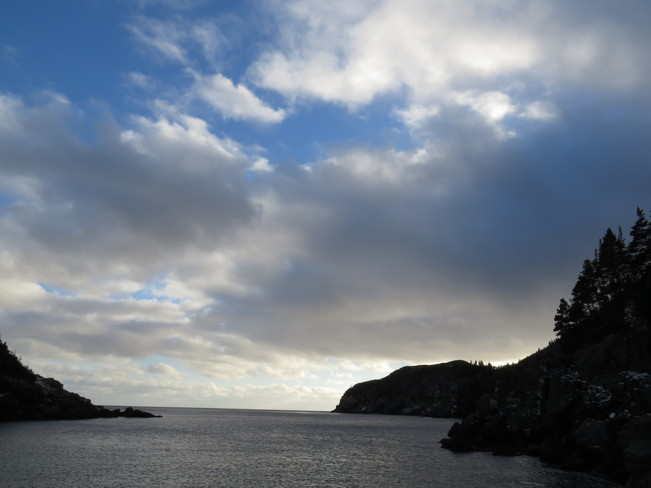 Fine weather clouds Rock Harbour, Newfoundland and Labrador Canada