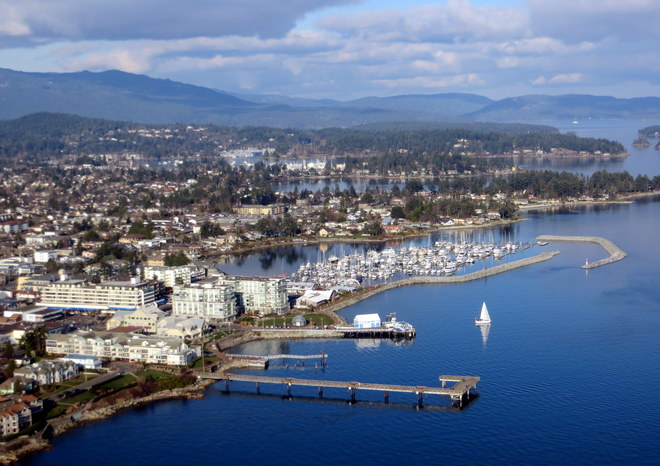 Sidney waterfront Sidney, British Columbia Canada