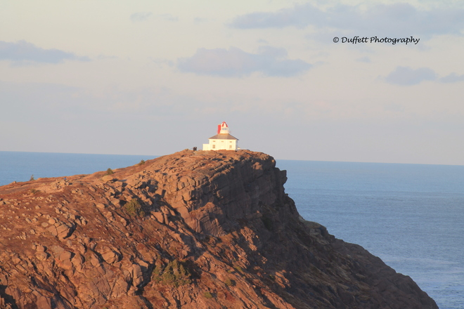 Lighthouse and shoreline at Cape Spear St. John's, Newfoundland and Labrador Canada
