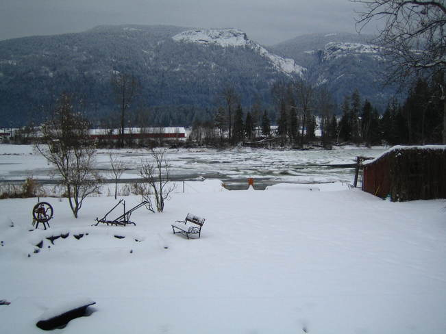 shuswap river shot from my back yard Grindrod, British Columbia Canada