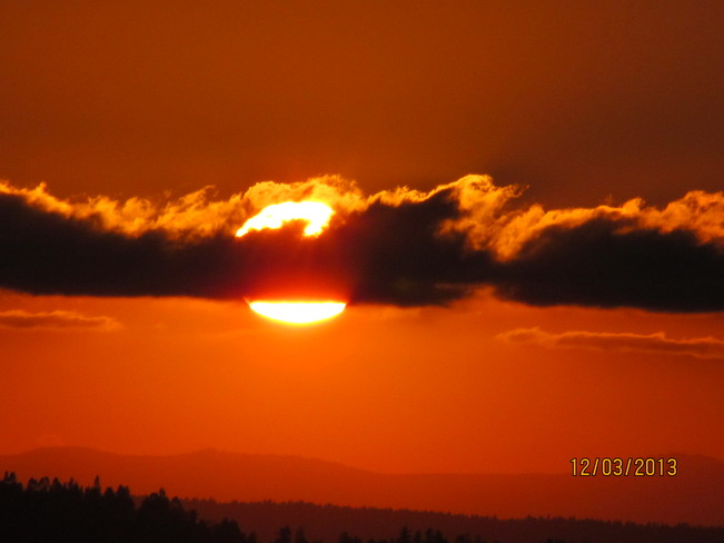 Sunset Cloverdale, British Columbia Canada