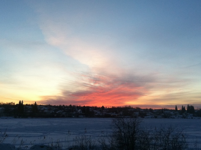 Beautiful sunrise in Flin Flon! Flin Flon, Manitoba Canada