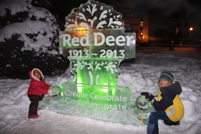 Red Deer's Centennial Grand Finale! Red Deer, Alberta Canada