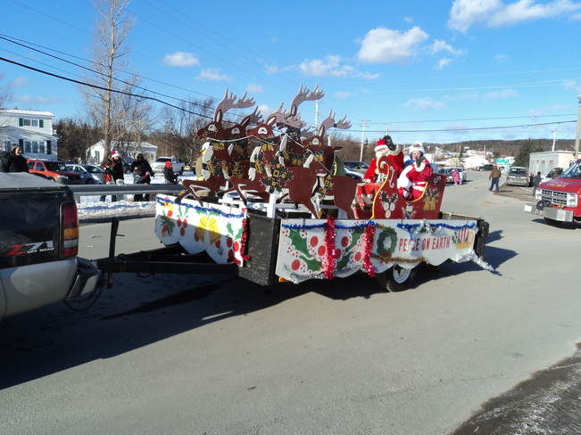 Victoria Santa Clause Parade Carbonear, Newfoundland and Labrador Canada