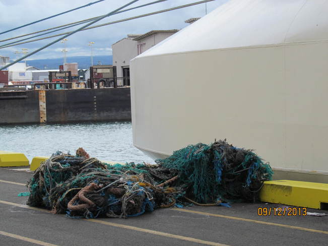Many fishing nets Cloverdale, British Columbia Canada